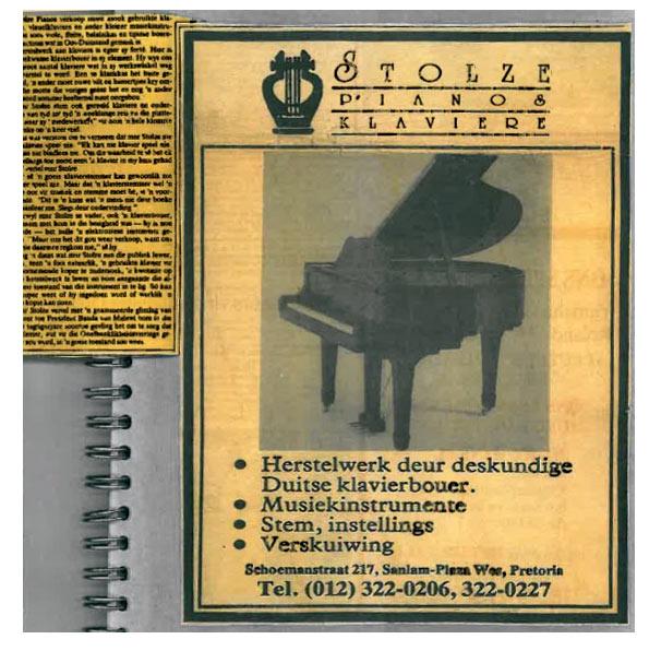 Stolze Piano & Klaviere