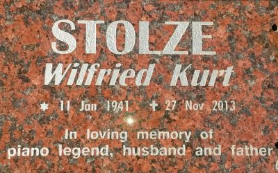 Eulogy for Wilfried Stolze
